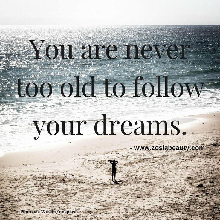 Z says...follow your dreams. #zosiabeauty #zosia #dreams #opportunity