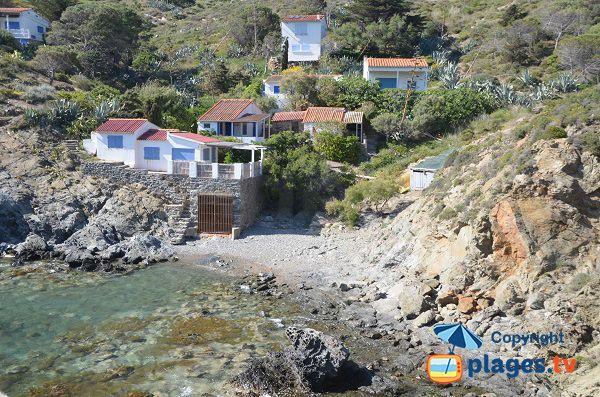 Photo de l'anse de Ste Catherine à Port Vendres