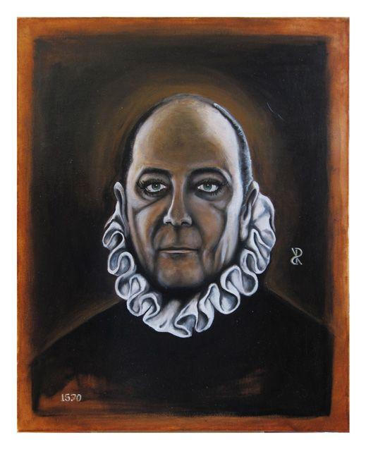 Riccardo_Soloperto/ El Greco - Oil on canvas - 40cmx50cm
