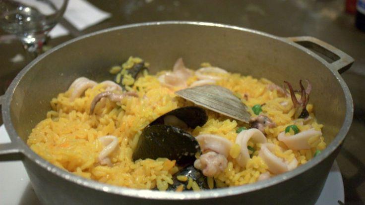 Cómo preparar el arroz con mariscos