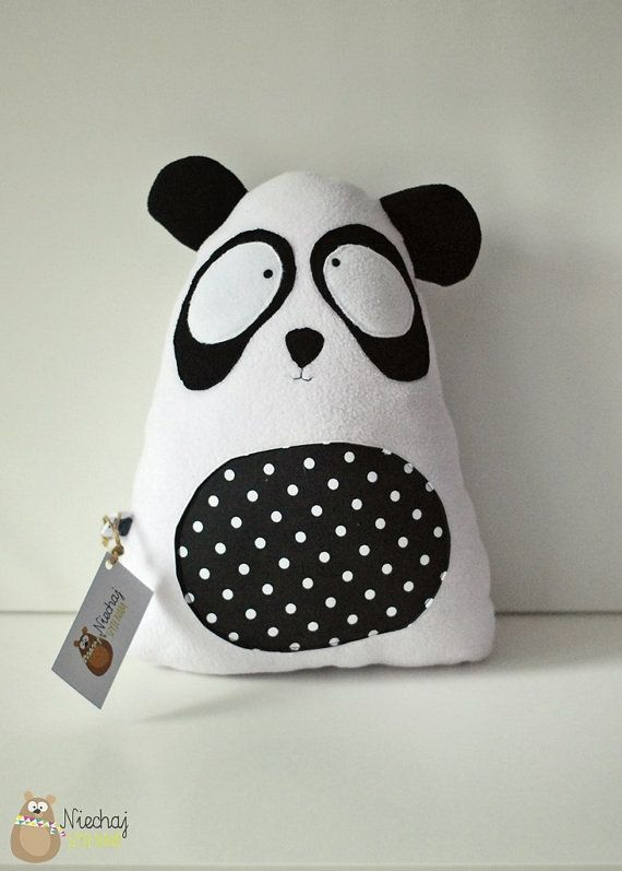 Panda teddy bear softie soft plush cuddly by SewManUniverseMaster