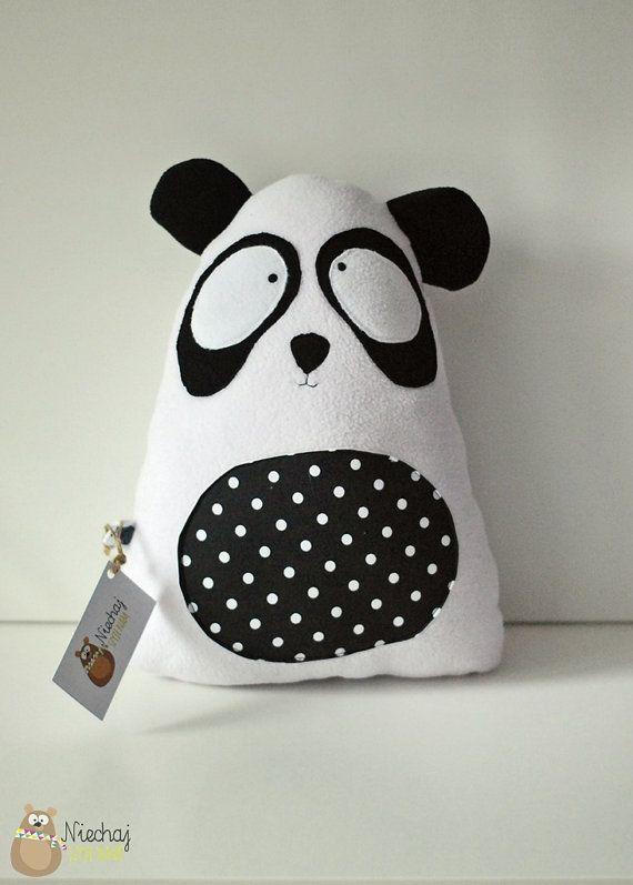 Panda teddy bear softie soft plush cuddly by SewManUniverseMaster