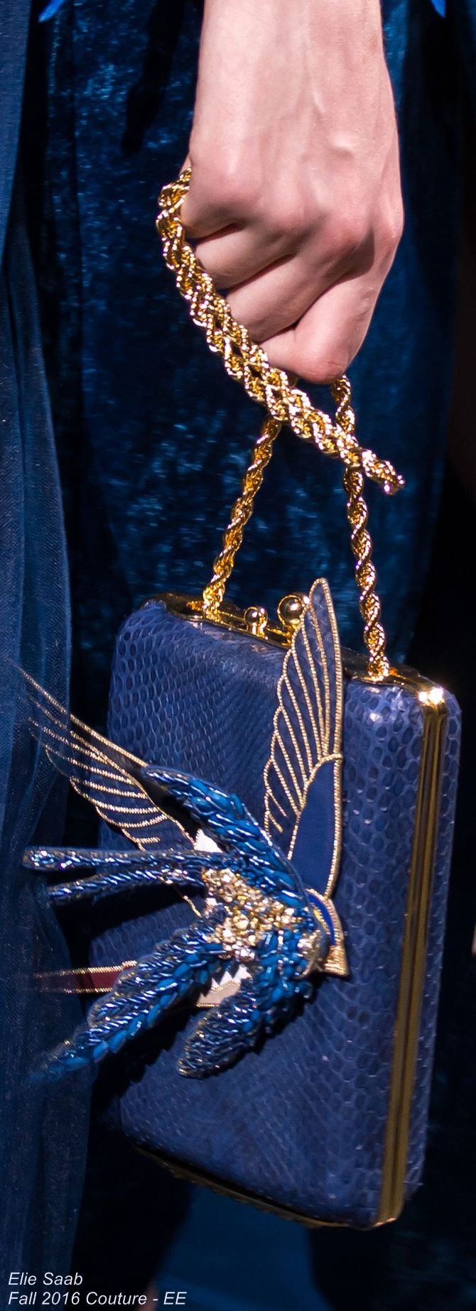 Elie Saab Fall 2016 Couture - EE handbags wallets - amzn.to/2jDeisA Clothing, Shoes & Jewelry - Women - Accessories - Women's Accessories - http://amzn.to/2kHDYlL