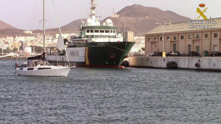 La Guardia Civll aborda un velero con 725 kilogramos de cocaína al sur de la Isla del Hierro | REGIÓN CANARIAS, Periódico digital de Canarias