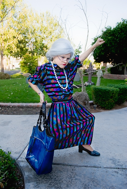 granny costume idea for Taylor's play