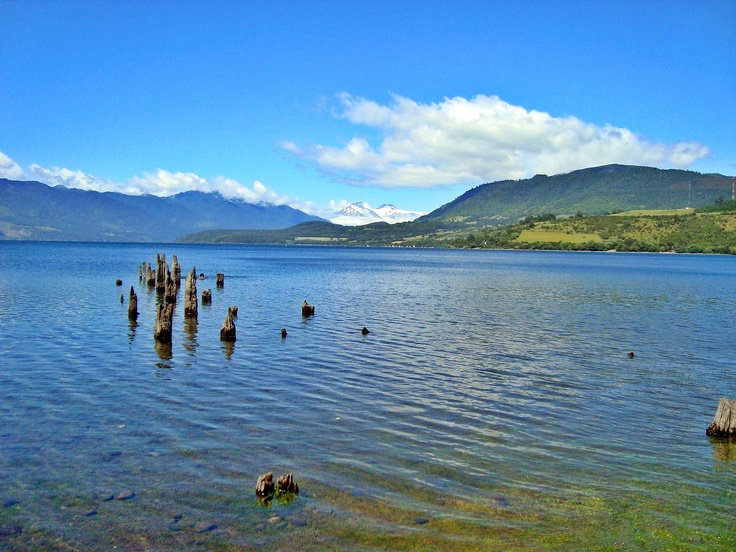 Lago Riñihue. Foto de Katherine Manriquez Araneda.