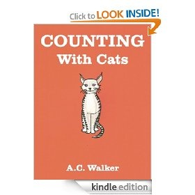 An ideal book for nursery school children to learn the basics of counting.    A learning to count book for children [3-5 yrs.].   The colourful illustrations show, step by step, each stage of  counting down from ten to zero.  The count-down begins with ten cats in a basket, with one cat removed as each one finds a home and walks away with a new owner.