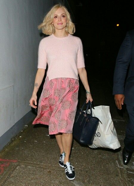 Fearne Cotton looking pretty in pink