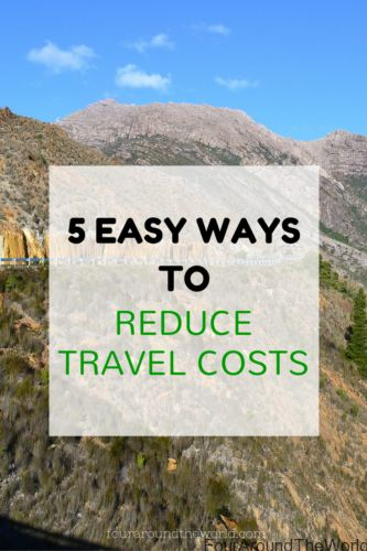 5 easy ways to reduce travel costs #familytravel