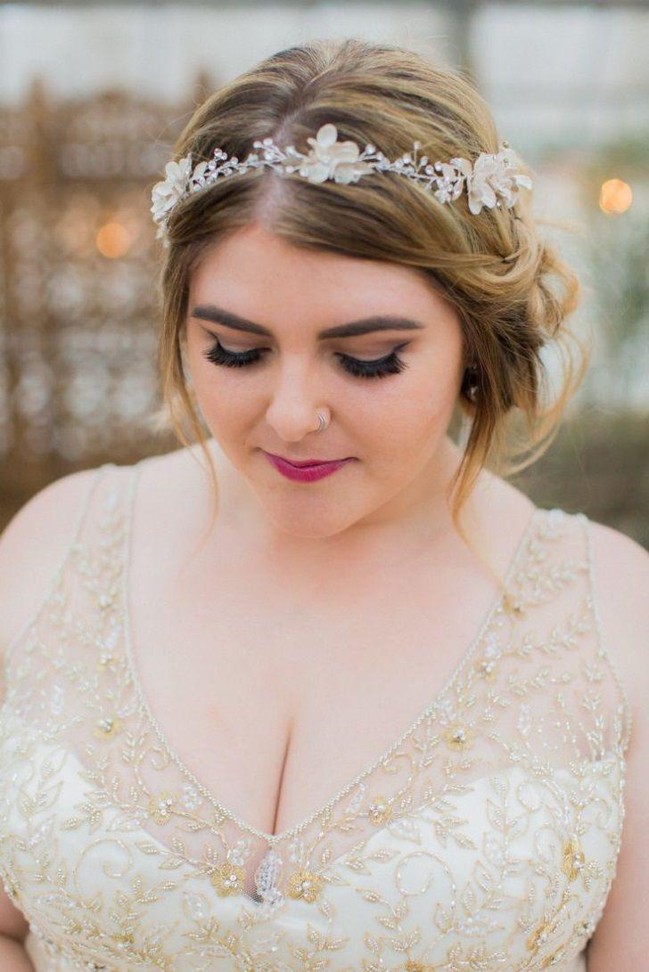 Gute Hochzeitsfrisuren für runde Gesichter - #für #Gesichter #Gute
