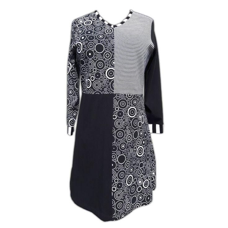 Geometrical Cotton Dress