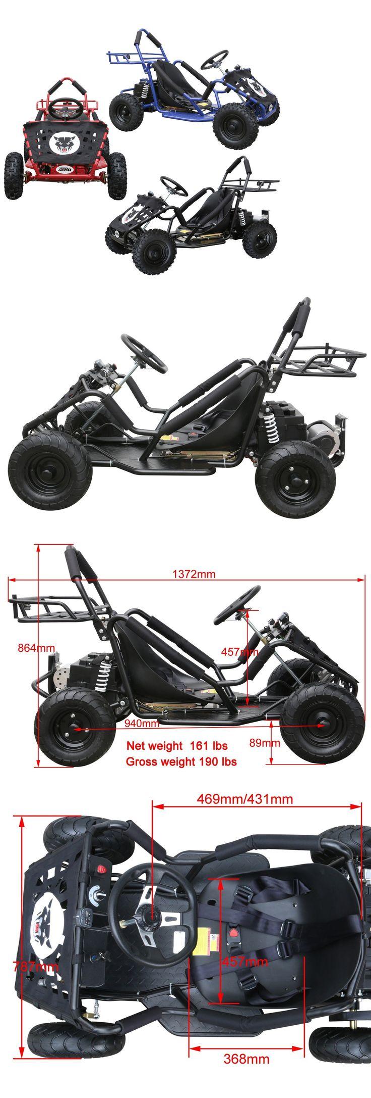 17 best ideas about electric kart mechanical complete go karts and frames 64656 kids off road go kart 48v 1800 watt
