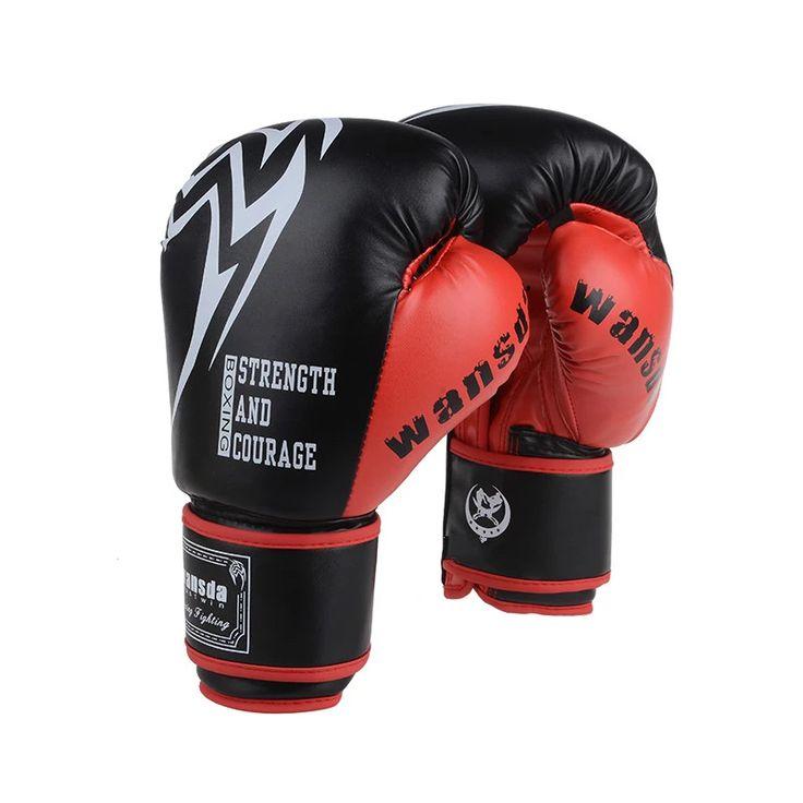 Quality One Process Forming Adults Women/Men Boxing Gloves MMA Muay Thai Boxe De Luva Mitts Sanda Equipments DNBO