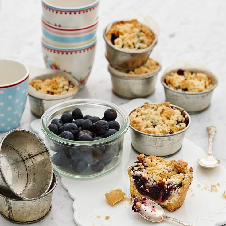 Ett ljuvligt recept på tartelette – som en blåbärspaj i miniformat. Foto Thomas Hjertén