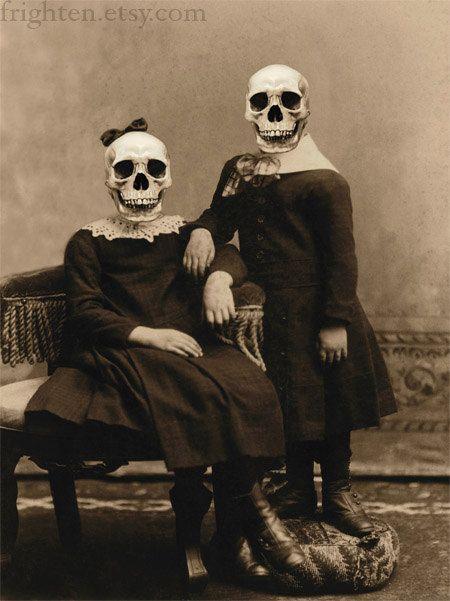 Decorazione di Halloween raccapricciante scheletro Art di frighten
