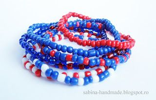 Bracelet made from beads - Bratara facuta din margele
