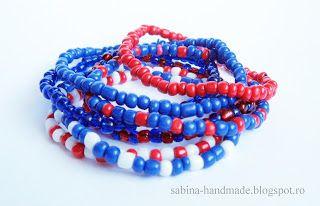 Bracelet made from beads - Bratara facuta din margele