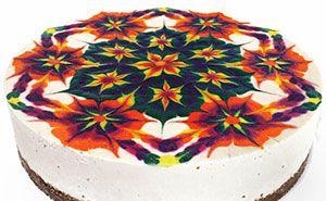 Hypnotizing Mandala Cakes Made Of Raw Vegan Ingredients <3