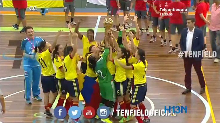 Colombia es campeón de la copa América de fútbol sala femenino