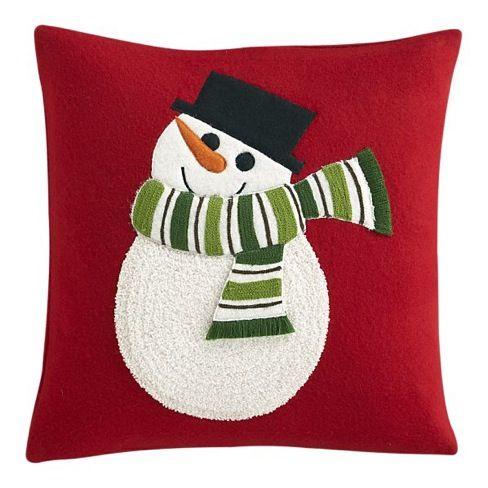 Cojines navideños dan un toque especial a tu salón