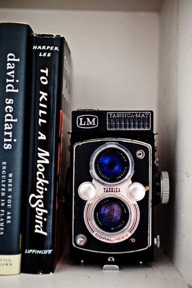 cheap + cheerful decor idea: add a classic camera