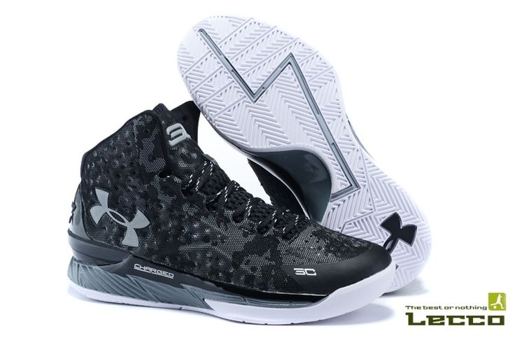 Мужские кроссовки Under Armour Curry One Black/Grey/White