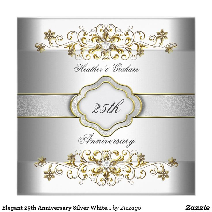 20 best 25th anniversary cards images on Pinterest | Wedding cards ...