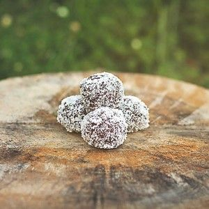 Try these yummy nut free bliss balls