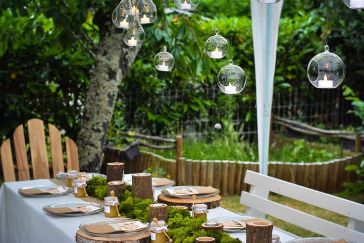 458 best decoration table images on pinterest marriage romantic and table - Deco de table naturel ...