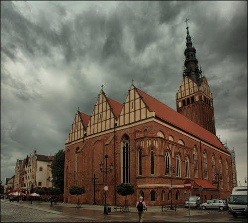 My first vertical panorama- Elbląg
