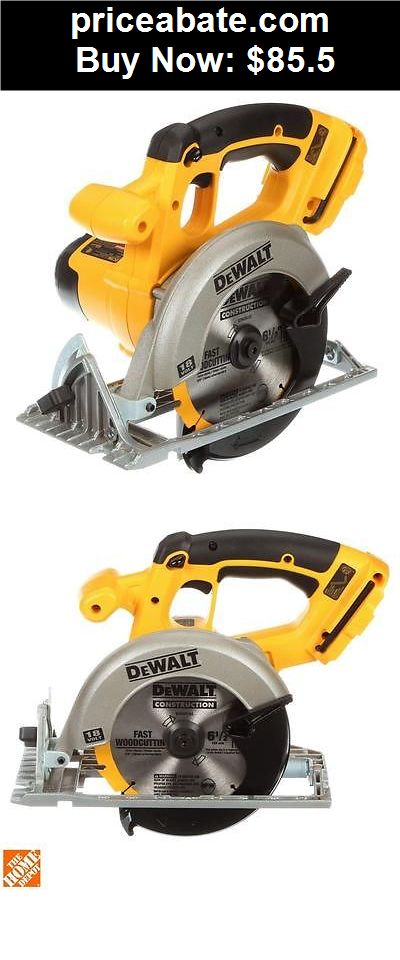 """Tools: DeWALT DC390B 18V XRP Cordless 6-1/2"""" Circular Saw Tool *New & Free Shipping* - BUY IT NOW ONLY $85.5"""