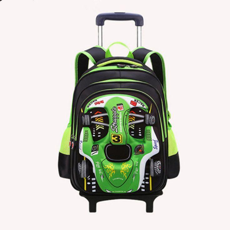 children school bags with wheels Travel Trolley Bag Children School Bag  For Teenager boysKids Backpacks Mochila Infantil