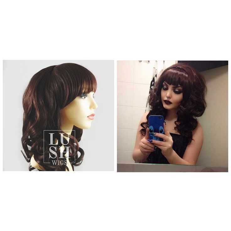 Awww rose is so cute  Lush Wigs - Chocolate Syrup  The cute girl next door @roseshock #lushwigs #lushwigsroseshock #wig #cutesy #cutewig Chocolate syrup is available to buy now from lushwigs.com (link in bio) #lushwigschocolatesyrup #lushwigsmechocolatesyrup