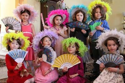 Birthday Tea Party: Kids Tea Party Ideas... Would love to do something like  for Lilly lol looks fun!