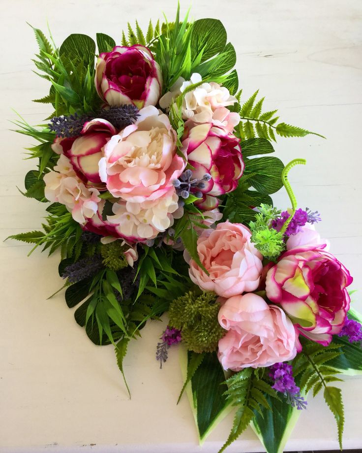 Excited to share the latest addition to my #etsy shop: Peony cascading bouquet set