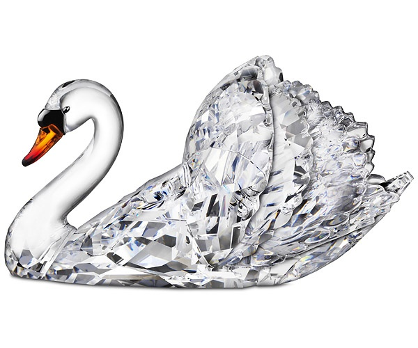Swarovski Sparkling Swan Available at: www.always-forever.com