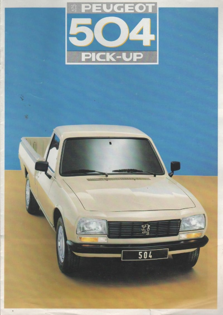 504 Peugeot Mijn brochures P