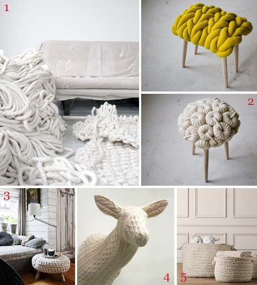 Knit Home From Oh How Pinteresting Home Decor