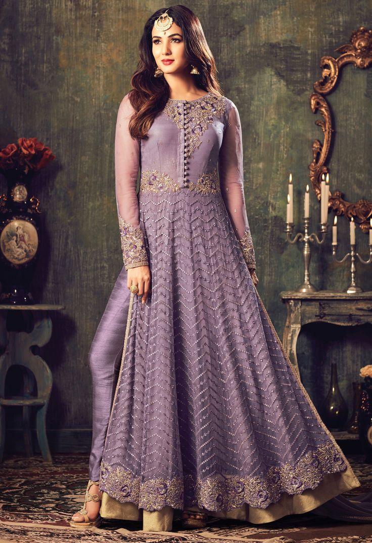 Mejores 60 imágenes de Sonal Chauhan Party Wear Anarkali Suits en ...