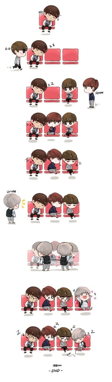 hunhan fan art | Tumblr