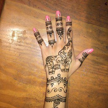 elephant henna - Google Search