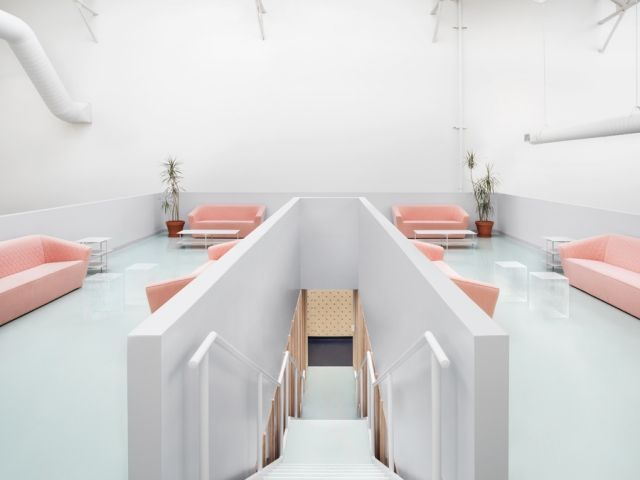 An office interior by I-V invites Toronto to savour the flavour of Campari - News - Frameweb