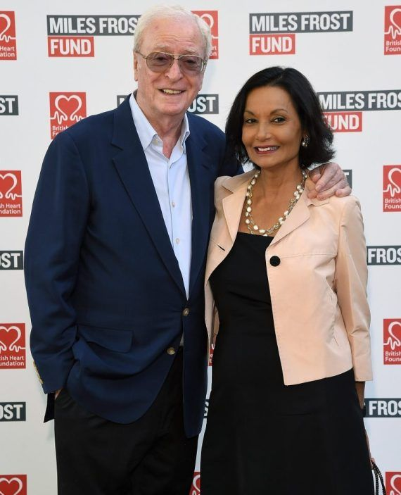 Michael Caine & wife