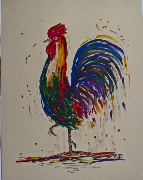 Rooster, Cockerel, Farm Animal