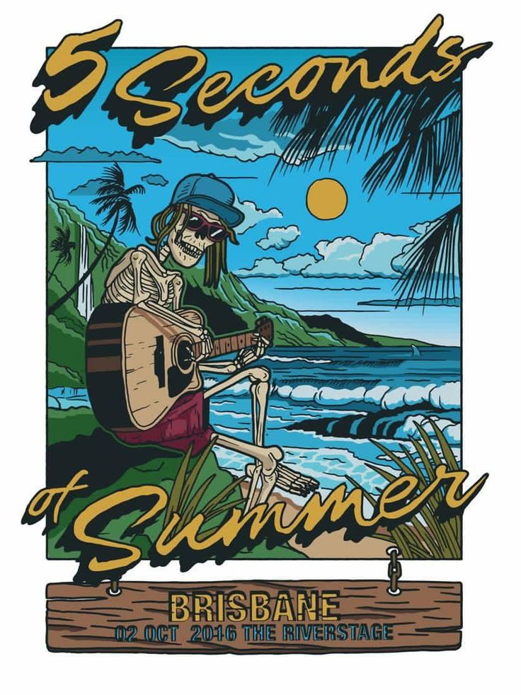 Brisbane's limited edition SLFL poster