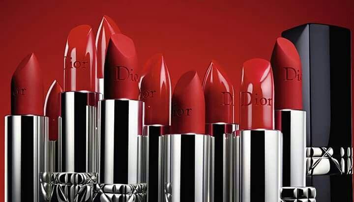 Labial Dior Rojo