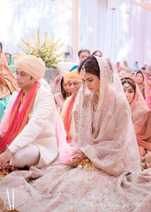 Indian Wedding Photo during the Religious Rituals