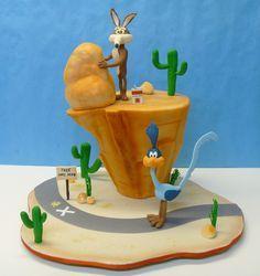 Looney Tunes Birthday by LovelyCakes.net, via Flickr
