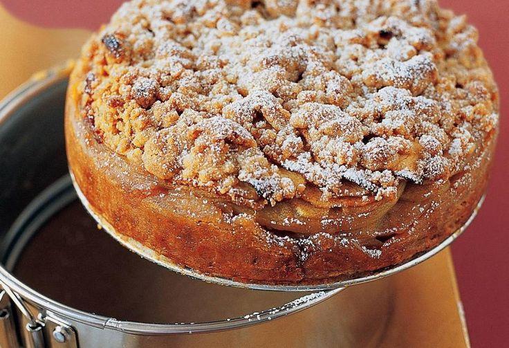 Συνταγή για γρήγορη & εύκολη απόλαυση -  Νηστίσιμη μηλόπιτα κέικ - Κεντρική Εικόνα
