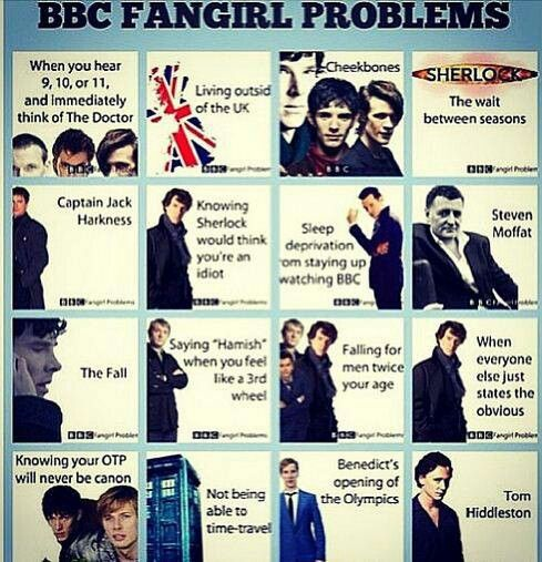 There is not enough Doctor who and Merlin problems in this. Other then that totally accurate